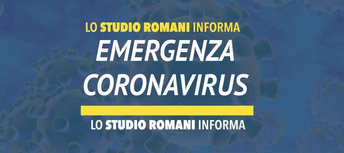 Circolare n. 7 Emergenza epidemiologica  da Coronavirus – Altre misure  di sostegno a carattere finanziario